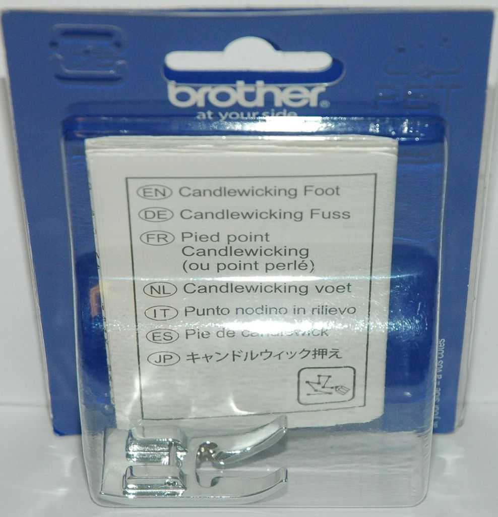 Chân vịt may mũi nến Brother F068N (Candlewicking Foot)